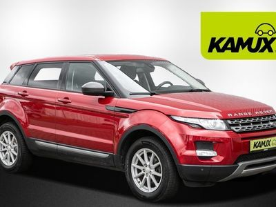 gebraucht Land Rover Range Rover evoque 2.2 TD4 Pure 4WD +AHK abn. +Bi-Xenon +Leder +Shz +PDC