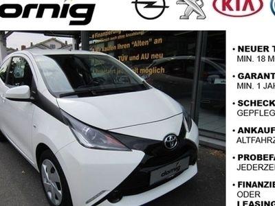 gebraucht Toyota Aygo x-play Klima, BC,ZV