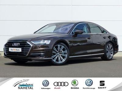 gebraucht Audi A8 55TFSI Quattro LED-MATRIX NAVI LEDER ACC HUD 4RAD-LENKUNG 20'' B+O MASSAGE