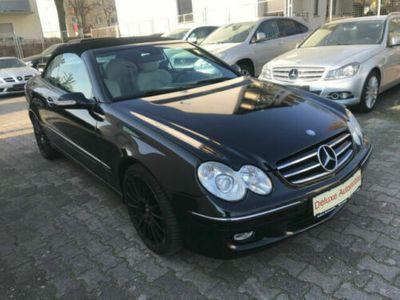 gebraucht Mercedes CLK320 Cabrio CDI*LEDER*AUOMATIK*NAVI COMAND