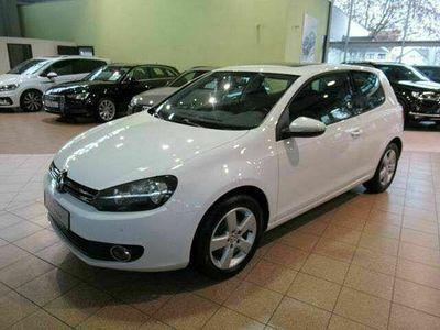 gebraucht VW Golf VI 1.6 Comfortline Klima Schiebedach Alu