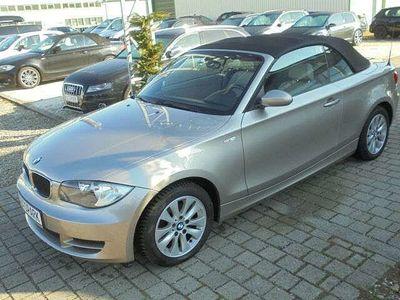 gebraucht BMW 118 Cabriolet Baureihe 1 118i*LEDER*1.HAND*ERST 56 TKM*