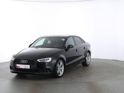 gebraucht Audi A3 Limousine Sport 2.0 TDI AHK|NAVI|LED|DAB schwarz