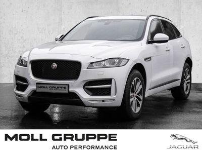 gebraucht Jaguar F-Pace R-Sport AWD 25t EU6d-T Xenon Navi Keyless ACC Rückfahrkam. Allrad El. Heckklappe