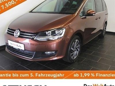gebraucht VW Sharan 2.0 TDI Sound Navi GRA PDC 7-Sitze 0,99%