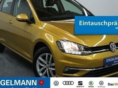 gebraucht VW Golf VII 1.5 TSI Comfortline ACC APP-Con. Blueto