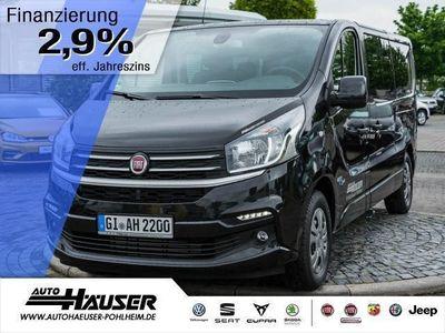 gebraucht Fiat Talento 1.6 Ecojet 125 TwinTurbo L2H1 9-SITZER (Klima Navi