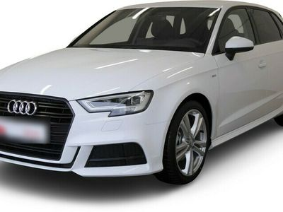 gebraucht Audi A3 Sportback A3 S line Stro LED*Navi*Sportsitze*Blu