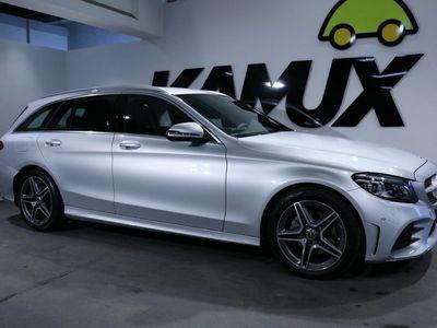 gebraucht Mercedes C200 T9G-TRONIC +AMG +Distronic +Multibeam LED +Park Assist