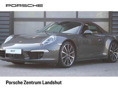 gebraucht Porsche 911 Carrera 4S Cabriolet 991 (911)   Naturleder  