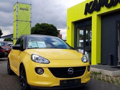 gebraucht Opel Adam 1.4 Slam +IntelliLink +x PDC +SHZ +Teil-Leder +Alu Schwarz