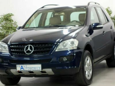 używany Mercedes ML280 M-KlasseCDI NAVI LEDER AHK ALU
