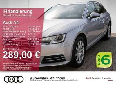 gebraucht Audi A4 Avant 2.0 TDI sport Xenon Einparkhilfe Klima