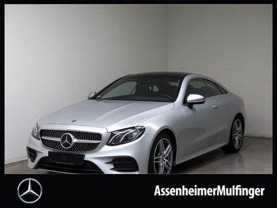 gebraucht Mercedes E200 Coupé AMG **Panorama/Distr/HUD/Kamera