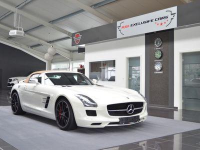 gebraucht Mercedes SLS AMG Roadster Designo Airscarf Kamera Dt.Fzg