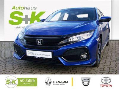 gebraucht Honda Civic 1.5 i-VTEC Turbo Sport *8.fachBereift*Navi