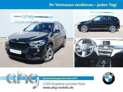 gebraucht BMW X1 xDrive20d Sport Line Aut. Klimaaut. PDC RFT