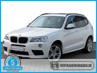 gebraucht BMW X3 xDrive 20dA M Sportpaket NAVI HUD PANORAMA
