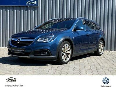 gebraucht Opel Insignia Country Tourer 2.0 CDTI+4x4+Navi+Bi-Xenon+Leder+OPC-Line