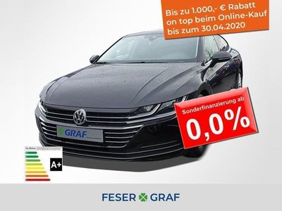 gebraucht VW Arteon 2.0 TDI 110 kW DSG NAVI LED Verkehrszeich