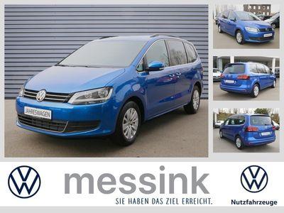 gebraucht VW Sharan Comfortline 1,4 TSI DSG *7-Sitze*Navi*Easy-Open*AHK*
