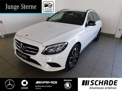 gebraucht Mercedes C200 T Avantgarde Night P.*AHK*Assistenz P.*LED Autom.