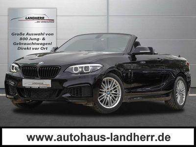 gebraucht BMW 218 218 i Cabrio Aut. M Sport // LED/NAVI/SHZ