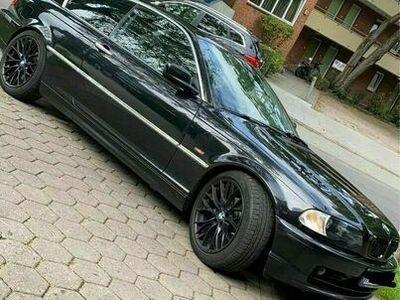 gebraucht BMW 325 Ci Coupé schwarz e46 als Sportwagen/Coupé in Hamburg Horn