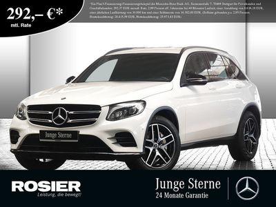 gebraucht Mercedes GLC350 d 4M AMG Sport LED Navi SHZ Einparkh. Pa