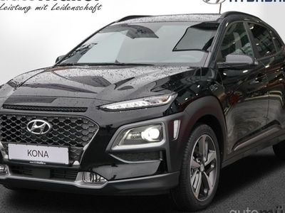 gebraucht Hyundai Kona 1.6 T-GDi 4WD Style Technik-Paket Kurvenlic