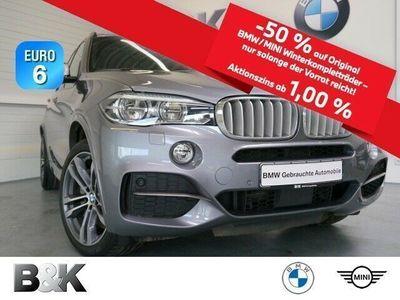 gebraucht BMW X5 M M50d Sportpaket Bluetooth HUD LED Vollleder