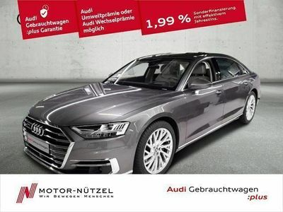 używany Audi A8L 50 TDI QU 5JG+MATRIX+NAVI+PANO+B&O+HuD