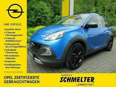 gebraucht Opel Adam Rocks Neu Rocks Faltdach 100 PS Klima Alu