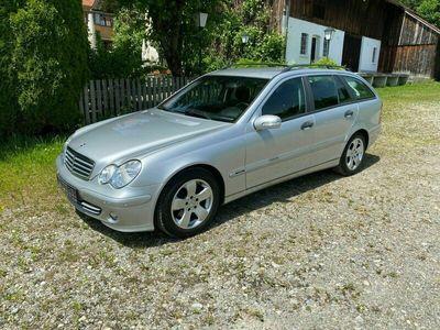 gebraucht Mercedes C200 T CDI / Automatik / AHK / Klima / 2 Hand