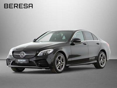 gebraucht Mercedes C300 e 4M AMG Distronic Spur-P. LED AHK Kamera