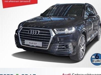 gebraucht Audi Q7 50 TDI quattro Head-Up Alu-22 7-Sitzer Kamera