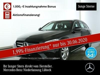 gebraucht Mercedes C220 d T Avantgarde LED AHK Kamera Spurhalt-Ass