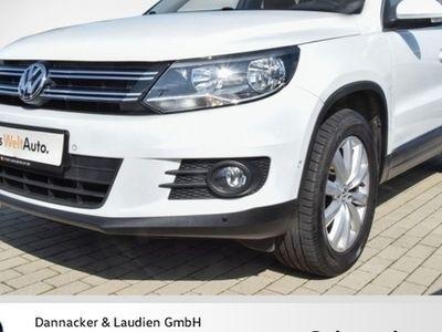 gebraucht VW Tiguan 2.0 TDI 4Motion BMT Sport + Style Alu Klima