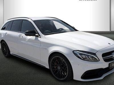 gebraucht Mercedes C63 AMG AMG S T-Modell Designo/Drivers P.