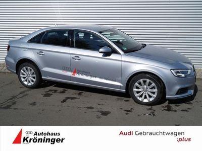 gebraucht Audi A3 Limousine 1,6 TDI S tronic Xenon GRA MMI Radio BT