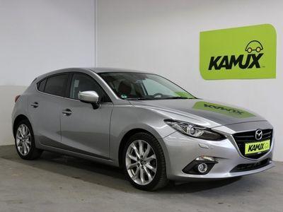 gebraucht Mazda 3 Aut. 2.2 Turbodiesel Sports-Line EU6 +Navi +Bi-Xenon +
