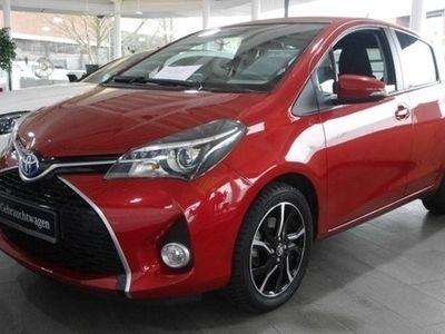 gebraucht Toyota Yaris 1.5 VVT-i Lounge Hybrid Klima Alu Sitzhzg.