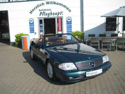 gebraucht Mercedes SL320 Spezial Edition, 1.Hd., 81tkm, Scheckheft, NR,Top!