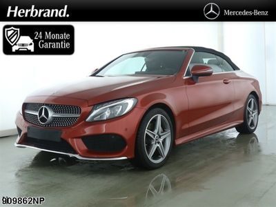 "käytetty Mercedes C180 AMG Line Cabrio >>LED AIRSCARF LMF18"" SHZ"