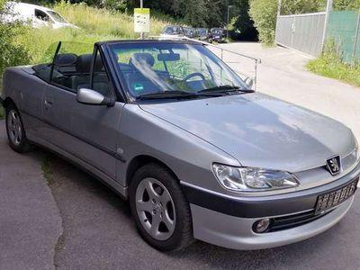 gebraucht Peugeot 306 Cabriolet KLIMA TÜV AU 08/2021 Viel Extra´s