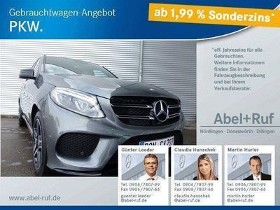gebraucht Mercedes GLE350 d 4M.-AMG-Night Paket-Airmatic-AHK-ILS