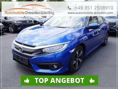 gebraucht Honda Civic 1.6I-DTEC Executive 9 Gang Automatik*Navi*Leder