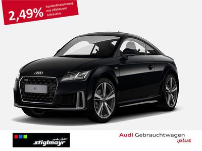 gebraucht Audi TT Coupé 45 TFSI quattro S tronic S-Line, LED, Navi,