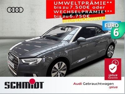 gebraucht Audi A3 Cabriolet 2.0 TDI Sport Virt. Cockp., Navi+, SHZ, Al