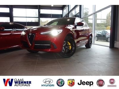 gebraucht Alfa Romeo Stelvio Quadrifoglio Q4 2.9 V6 Bi-turbo EU6d-T Leder Navi